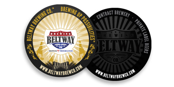 Beltway Brewing Company Coaster Design