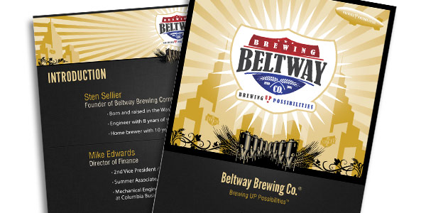 Beltway Brewing Company PowerPoints & Packets