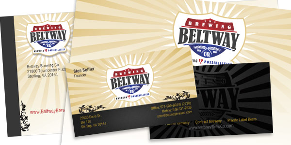 Beltway Brewing Company stationary