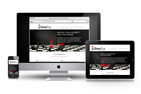 Website Design and Development for GreyFox, LLC