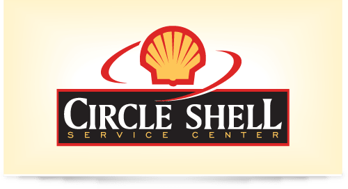 Logo design for Circle Shell Gas Station