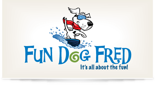 Logo design for Fun Dog Fred Pet Store
