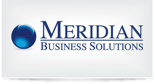 Logo design for Meridian Business Services