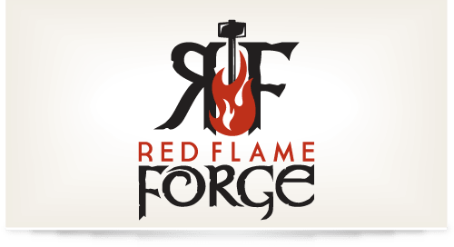 Logo design for Red Flame Forge