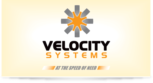 Logo design for Velocity Systems