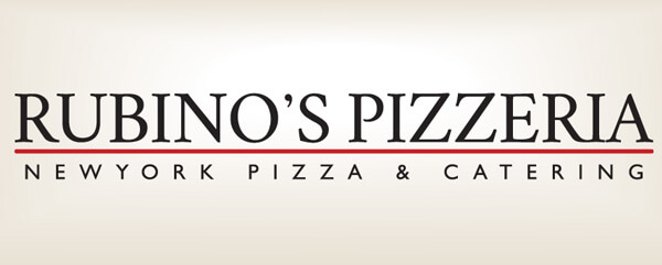 Rubino's Pizzeria new logo design