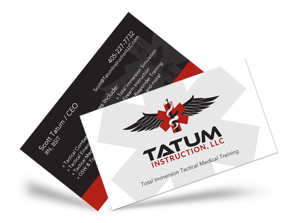 Business Card designs for Tatum Instruction, LLC